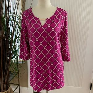 Smart, Purple Link Tunic
